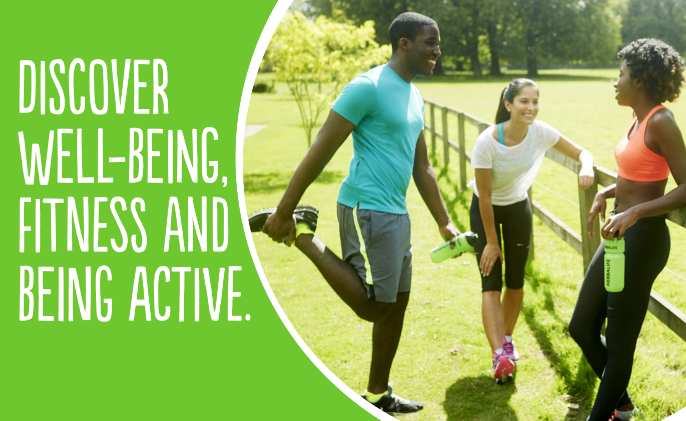 Discover Well-Being, Fitness andBeing Active